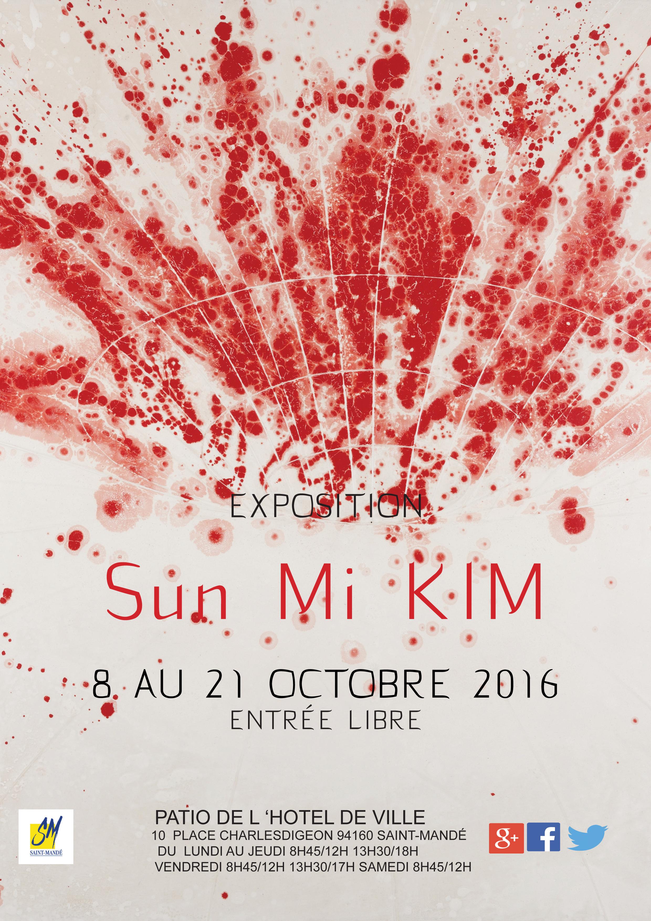 exposition personnelle à la mairie de Saint-Mandé